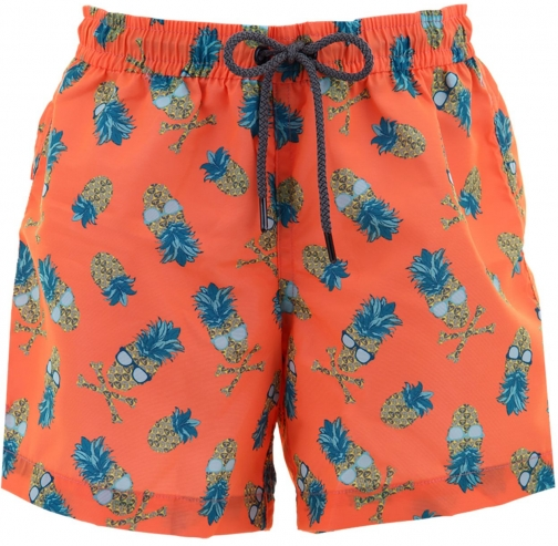 House Of Fraser Sunuva Boys Punk Pineapple Swim Short
