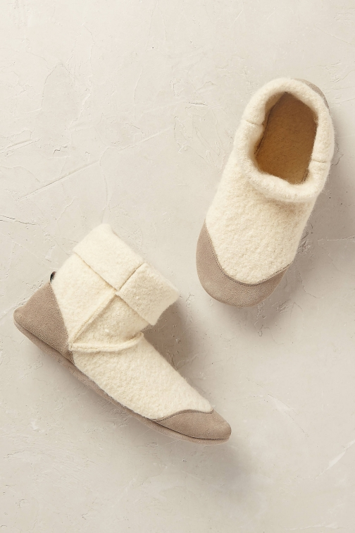 Anthropologie Denver Wool Slipper