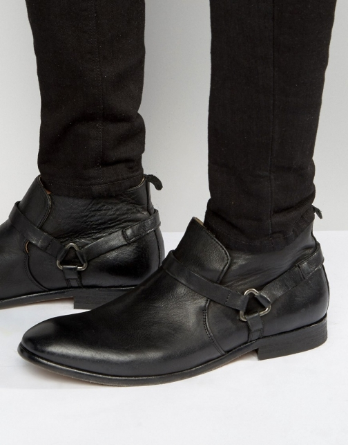 Asos Hudson London Hague Leather Boot