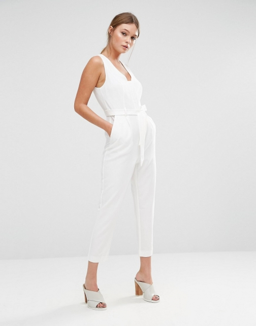 New Look Square Neck Jumpsuit