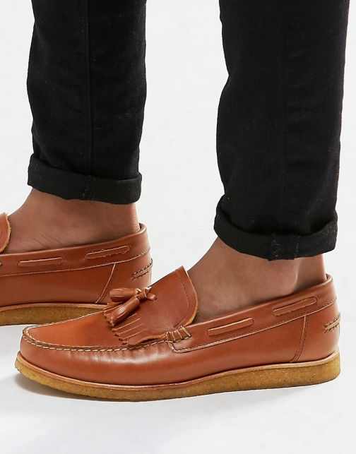 Asos Walk London Windsor Leather Tassel Loafer