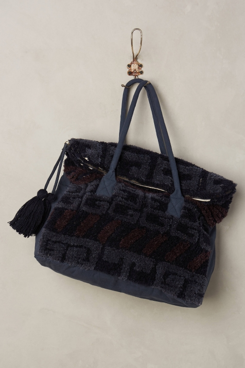 Anthropologie Adira Carpet Bag