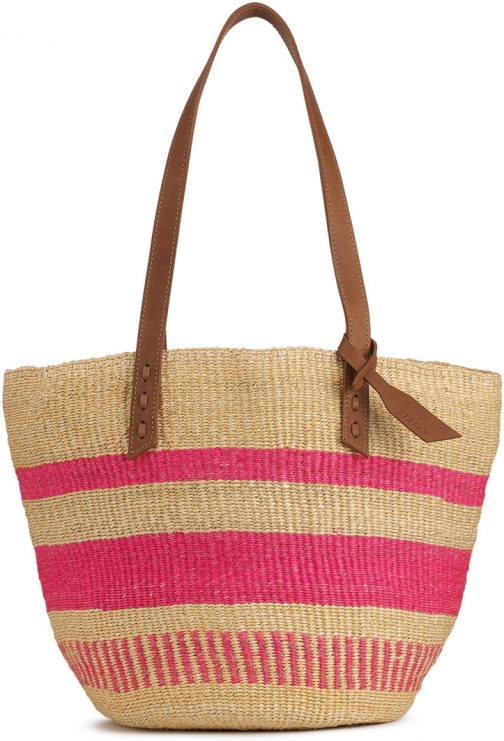 Jigsaw The Basket Room Woven Tote Bag