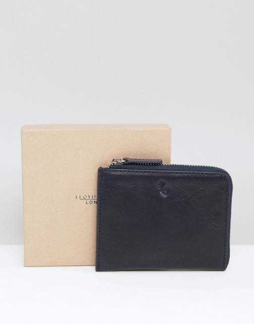 Asos Lloyd Baker Leather Half Zip Wallet
