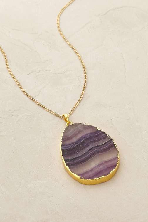 Anthropologie Celina Necklace Pendant