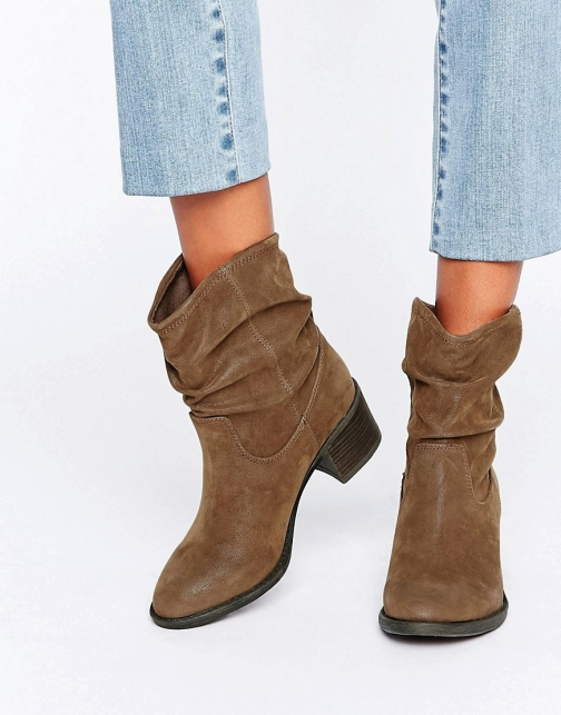 Miss Kg Travis Slouchy Ankle Boot
