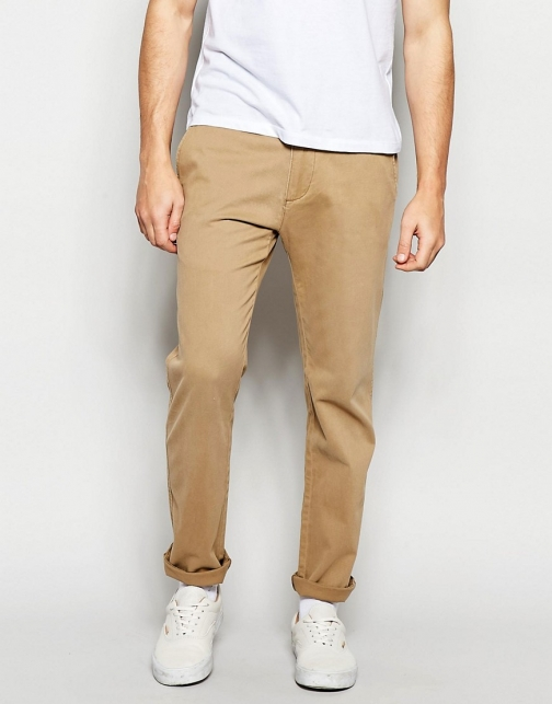 Abercrombie & Fitch Skinny Stretch Khaki Chino