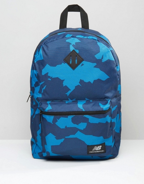 New Balance Camo Navy Backpack