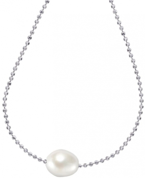 House Of Fraser Dower And Hall Silver Single White Pearl Pendant