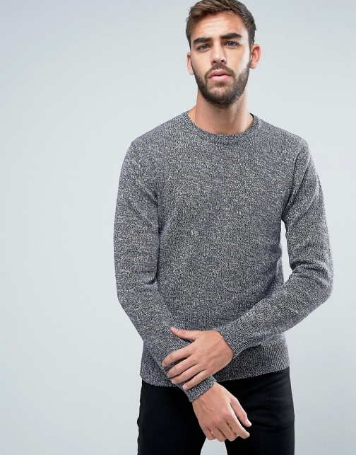 French Connection Melange Fleck Knitted Jumper