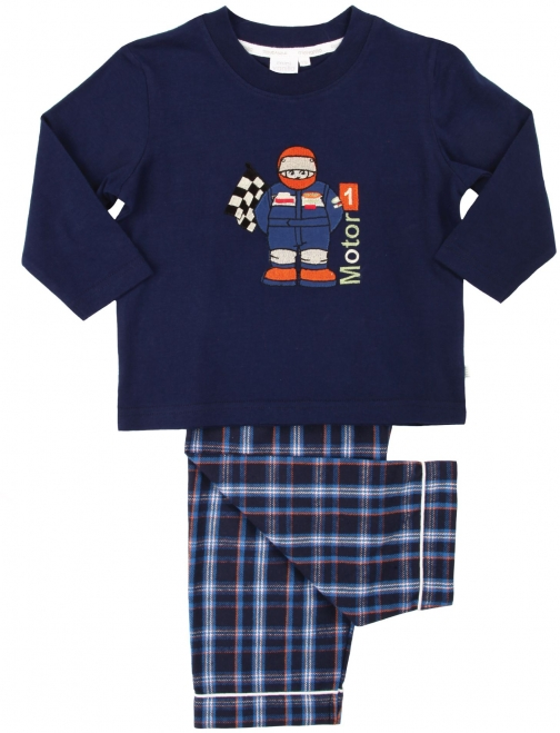 House Of Fraser Mini Vanilla Boys Racing Driver Pyjama