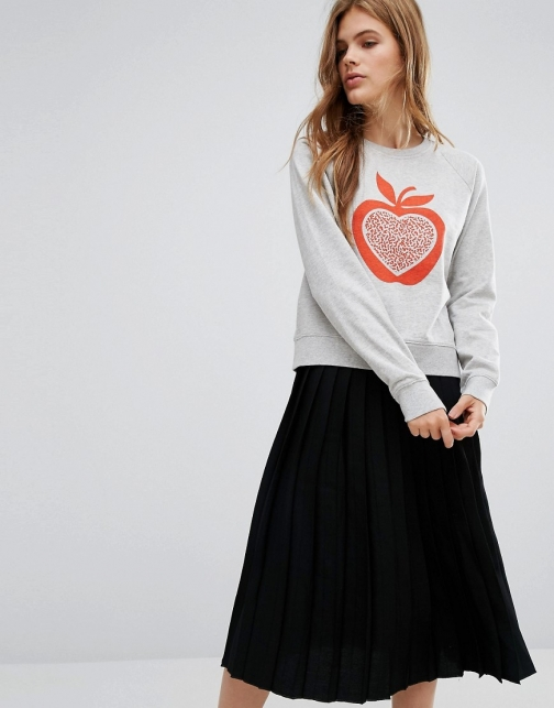 Ymc Apple Print Sweatshirt