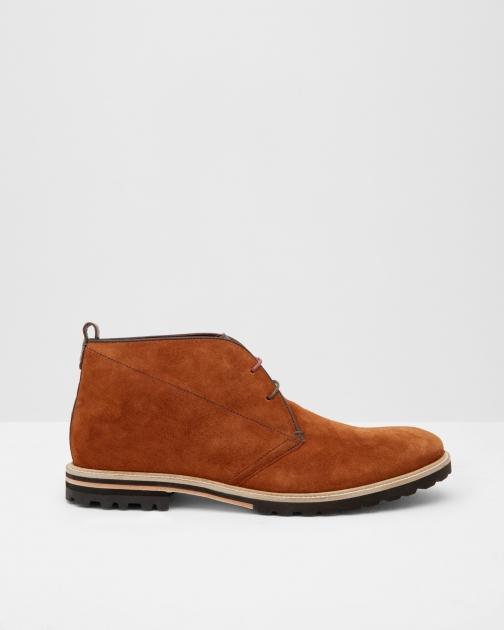 Ted Baker Suede Desert Tan Boot