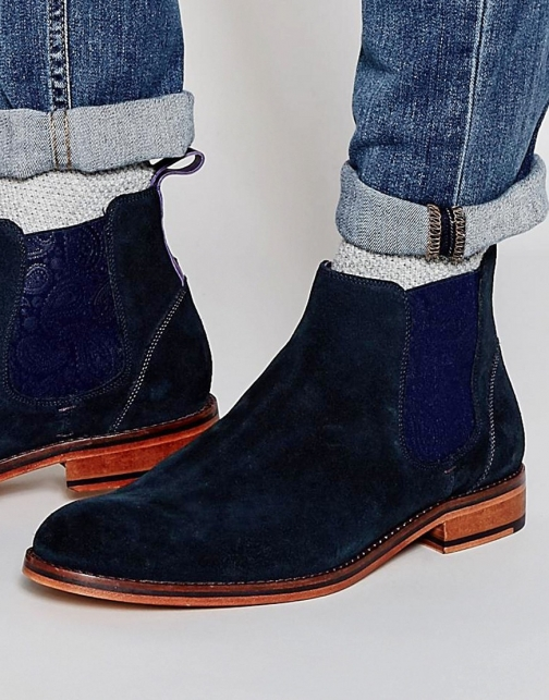 Ted Baker Camroon Suede Chelsea Boot