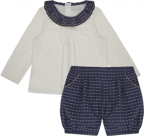 House Of Fraser Carrement Beau Baby Girls And Bloomers Set T-Shirt