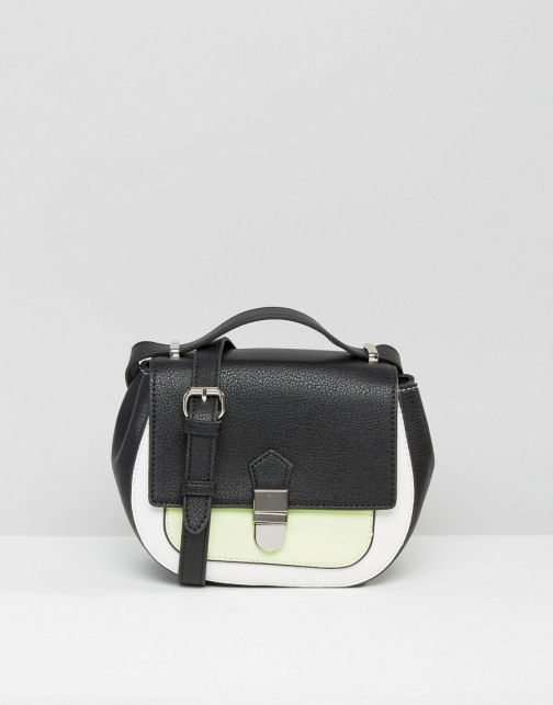 Asos Missco Girl Glow The Dark Cross Body Bag
