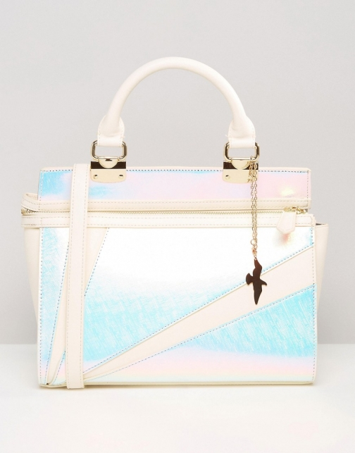 Asos Missco Girl Iridescent Tote Bag