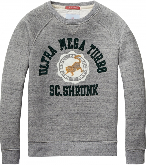 House Of Fraser Scotch Shrunk Boys Crew Neck Sweatshirt