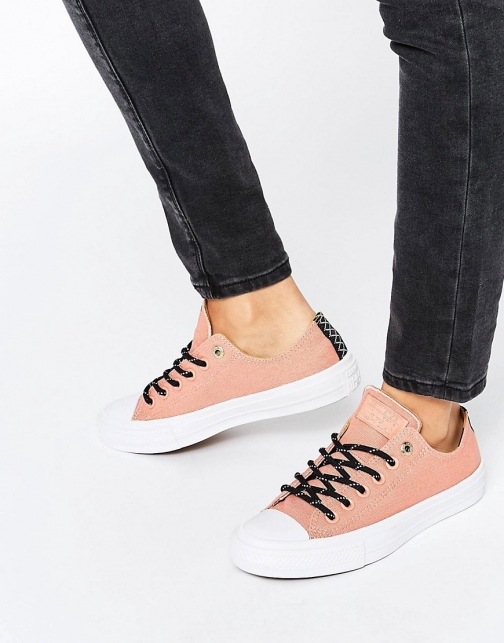 Converse Chuck Ii Shield Canvas Pink Ox Trainer