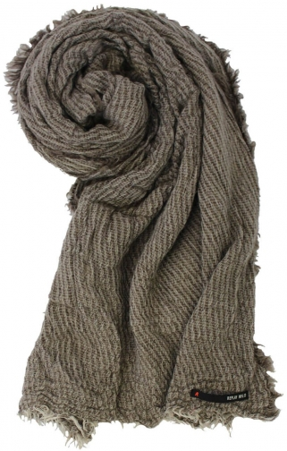 Replay Viscose And Alpaca Blend Scarf
