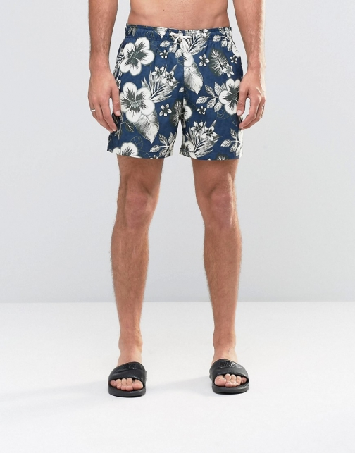 Abercrombie & Fitch Floral Swim Short