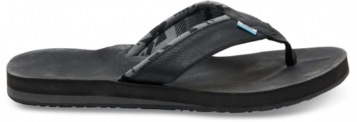 Toms Black Men's Carilo Flip Flop