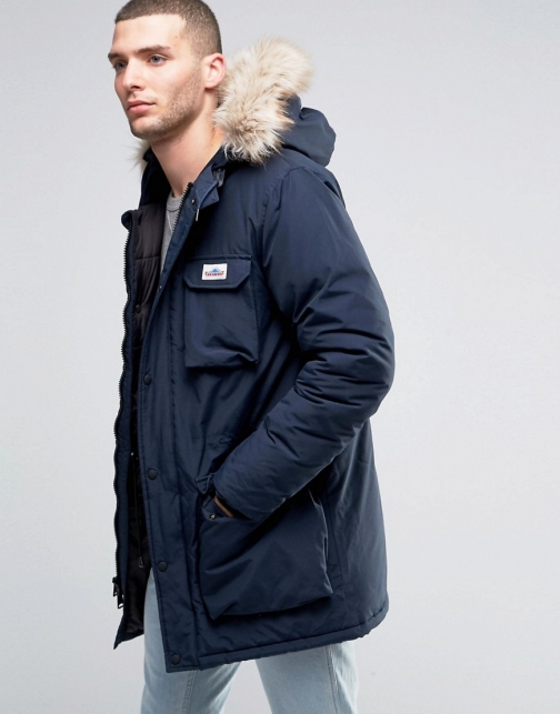 Penfield Lexington Mountain Faux Fur Trim Parka