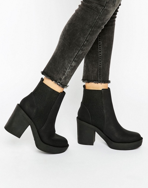 Asos ETHEL Chunky Chelsea Ankle Boot