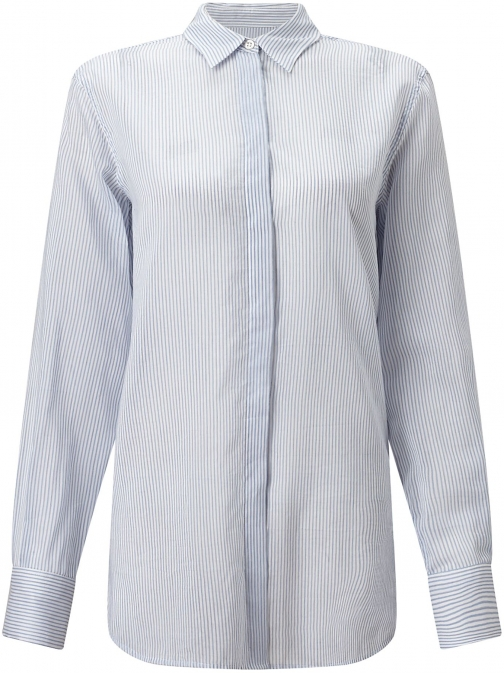 Jigsaw Stripe Voile Shirt