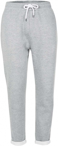 Topman Men's Topman Grey Turn Up Hem Joggers Trouser