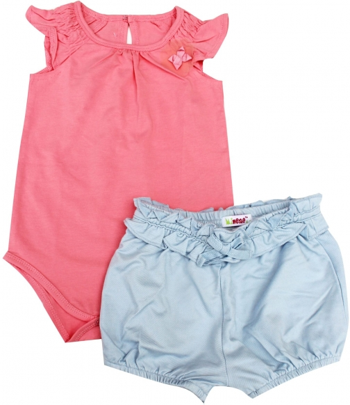 Minene Girls & Bodysuit Set Short