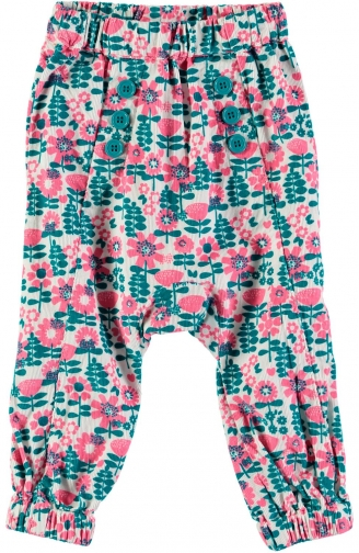 House Of Fraser Rockin' Baby Girls Floral Print Trouser