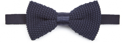 Jigsaw Silk Wool Bow Tie