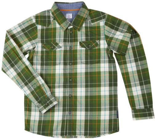 Polarn O. Pyret Boys Checked Shirt