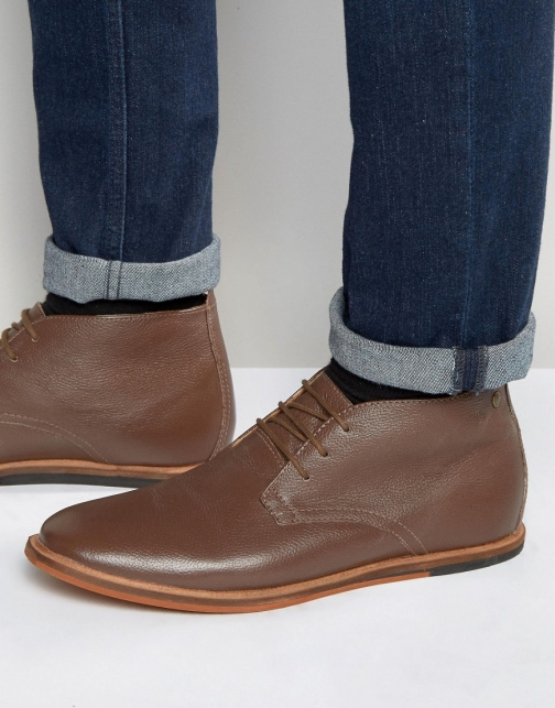 Frank Wright Strachan Chukka Brown Leather Boot