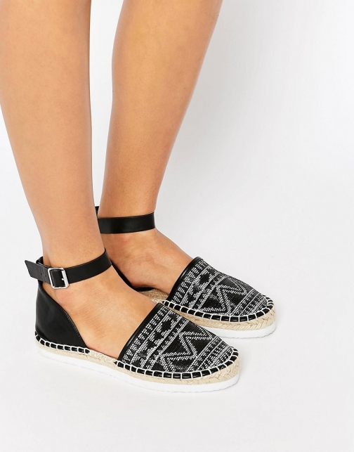 Asos JACKER Two Part Espadrille