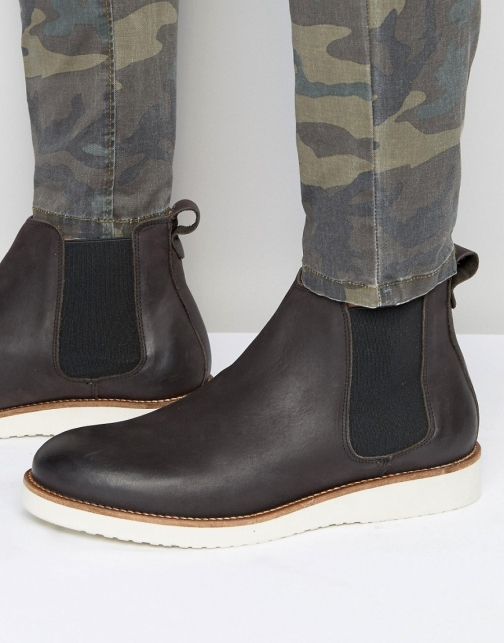 Selected Homme Rud Leather Chelsea Boot