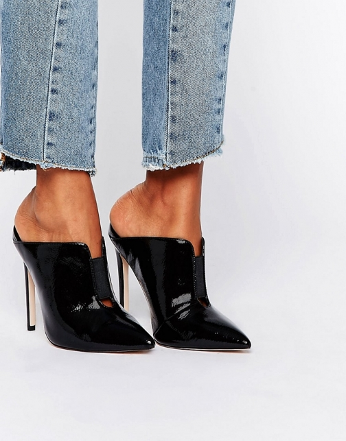 Asos POISON Pointed Mules