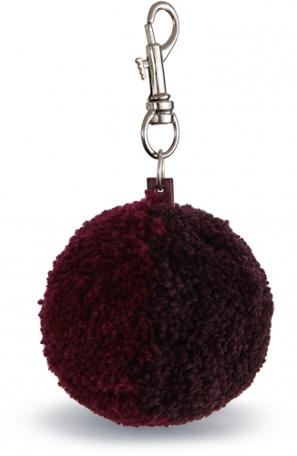 Jigsaw Wool Pom Keyring Accessorie