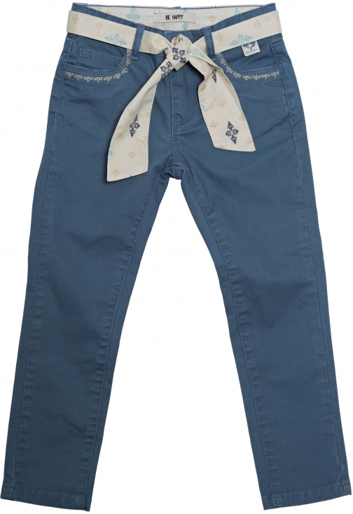 House Of Fraser Disney Courage & Kind Girls Blue Canvas Jeans