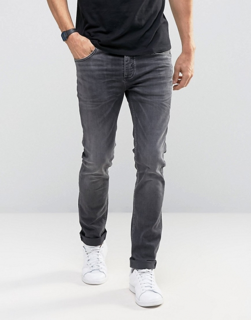 Selected Homme Skinny Fit With Stretch Jeans