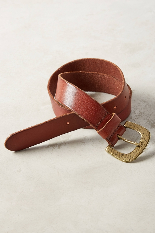 Anthropologie Simply Forged Belt