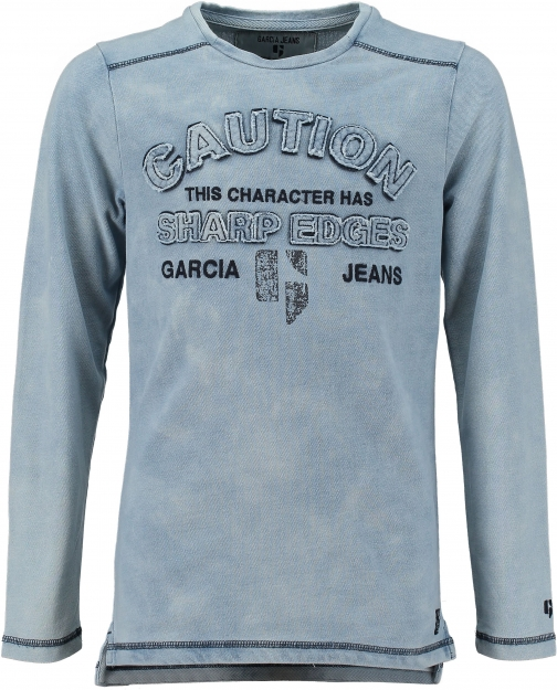 Garcia Boys Textured Cotton Sweatshirt