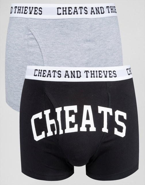 Cheats & Thieves 2 Pack Trunks