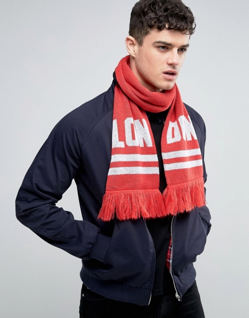 Abuze London LON DON Knitted Scarf