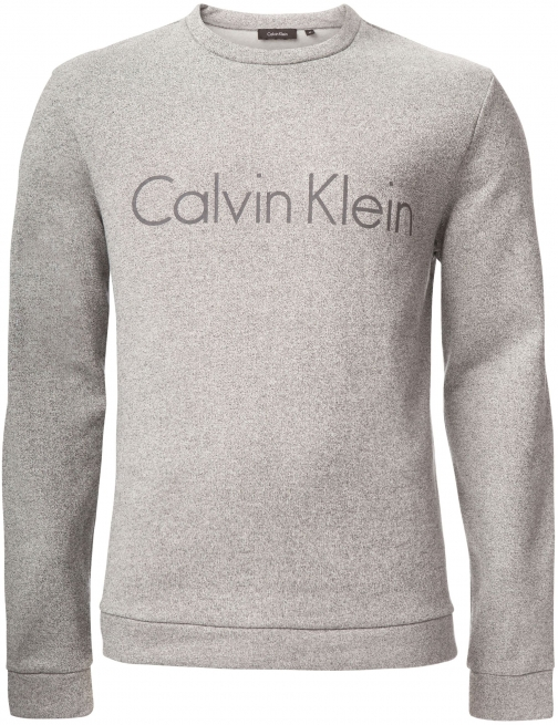 Calvin Klein Men's Calvin Klein Karlin Heather Terry Front Logo Fleece
