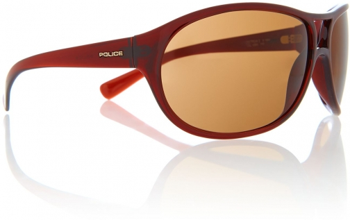 Police Square Dark Sunglasses