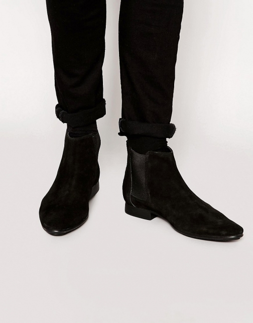 Frank Wright Suede Chelsea Boot