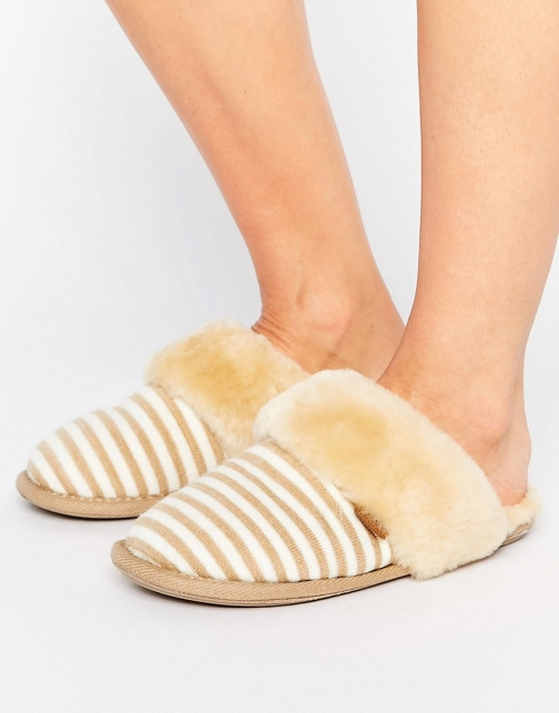 Totes Just Sheepskin Duchess Slipper