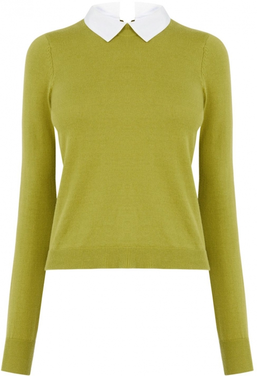 Oasis Formal Knit Collar